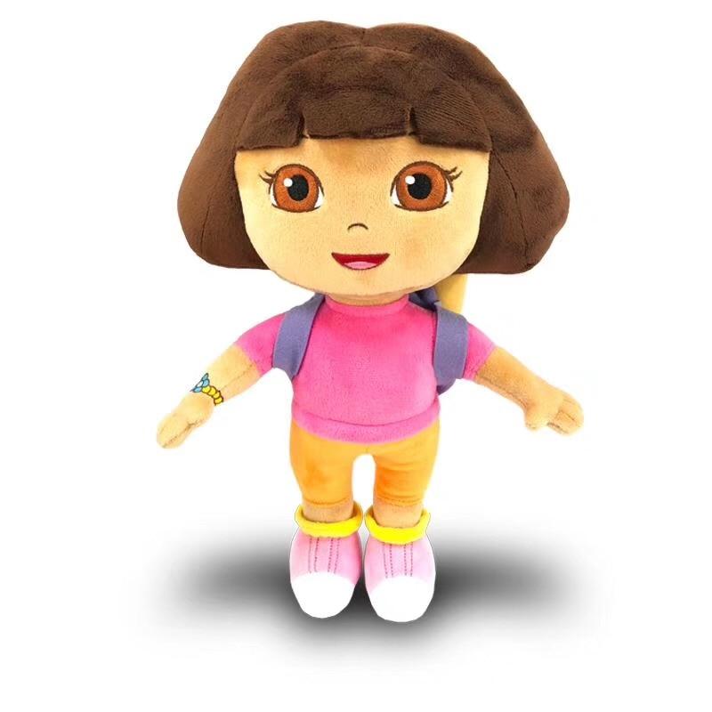 100% Genuine 15-30cm Dora the Explorer Boots swiper cartoon Plush Soft stuffed Doll Children Toy kids Birthday Christmas gift 2