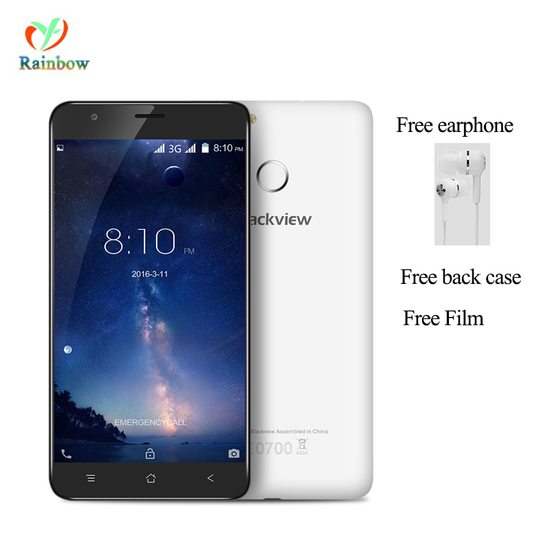 bilder für Freies Kopfhörer Fall! Blackview E7S handy Android 6.0 2 GB RAM 16 GB ROM 8.0MP Smartphone Fingerprint ID 5,5 'IPS Handy