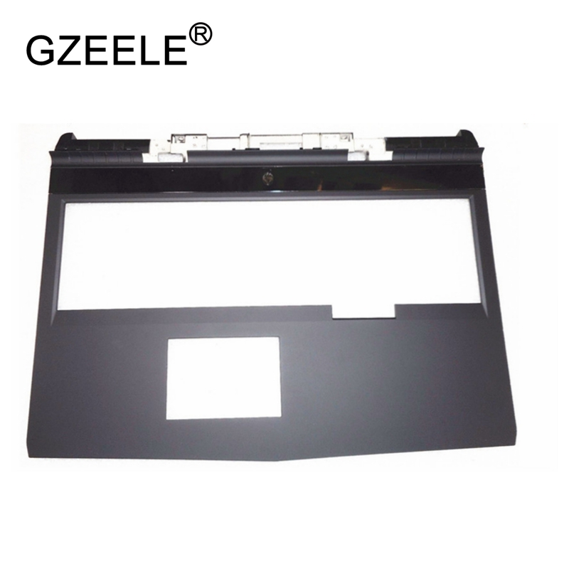 GZEELE New laptop Upper Case C Cover For DELL Alienware 17 R4 Palmrest SHELL 08G7X7 8g7x7 brand new laptop for dell inspiron 15 15r 5521 5537 3537 3521 lcd back cover upper cover bezel case palmrest cover bottom case