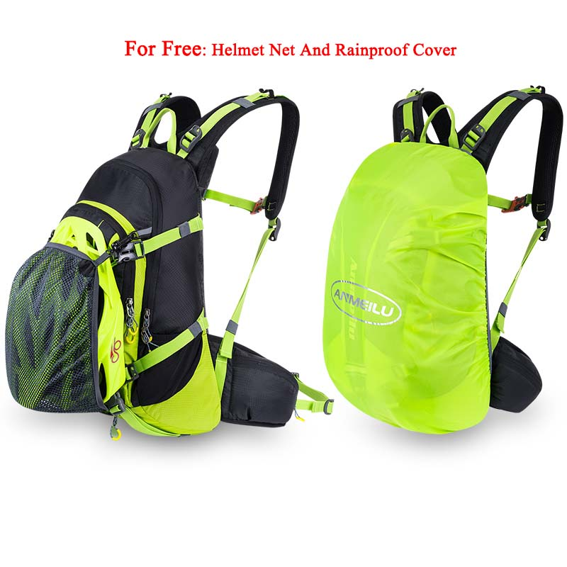 ANMEILU 20L deportes bolsa de Nylon resistente al agua Camping escalada bolsa Mochila de viaje al aire libre senderismo ciclismo Mochila cubierta de lluvia Mochila - 5
