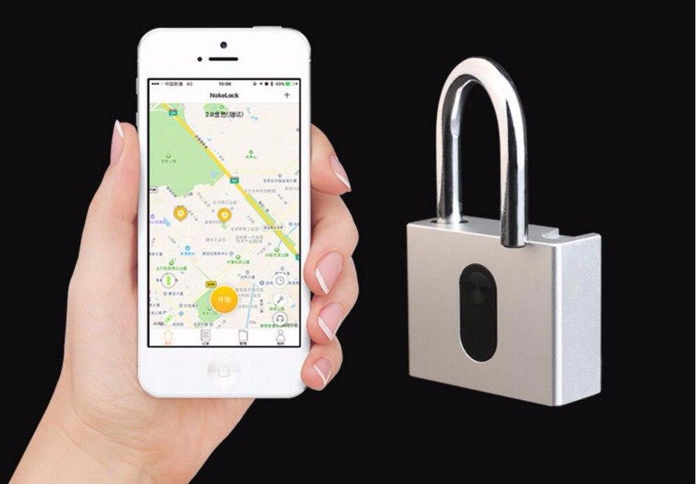 Anti-theft Keyless Mobile Phone APP Unlock Waterproof Smart Bluetooth Pad Lock