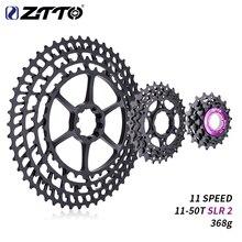 ZTTO 11 s 11 50 T 一眼レフ 2 カセット MTB 11 速度ワイド比超軽量 368 グラムの cnc フリーホイールマウンテンバイク自転車部品 × 1 9000