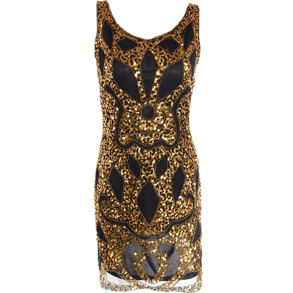 women 1920 s sequin art deco hollow paisley tribe cocktail inspired