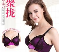 Underwear small breast Push Up Bra minimizer deep vs 5cm thick Padded brassiere lace bras for women pushup bra girls bra 7714