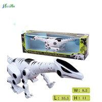Photipong 508 Children Electric Model Dinosaur Walk Simulation Animal Toy Plastic Puzzle Light Music