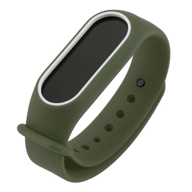 Watch Strap Watch Band Replacement Silica Gel Wristband Band Strap For Xiaomi Mi Band 2 Bracelet Miband 2 Strap For Hours HY