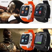Newest Smart Watch Android 4.2 OS Dual-core CPU 3G/GSM/WCDMA 1.54 Inch Screen Sports Pedometer Heart Rate Monitor Free Shipping