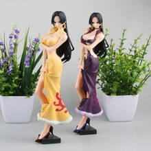 2017 new anime one piece Boa Hancock action figure cheongsam Hancock figure model toys doll juguetes collection model gift hot