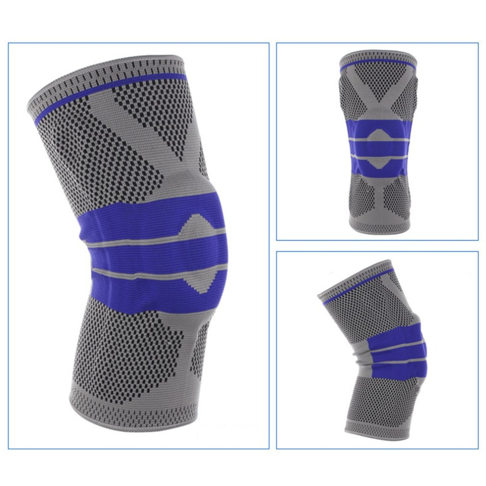 2018 hot Knee Protector Sports Protective Breathable Volleyball Basketball Relief Prevent Sports Knee Support Brace2018 hot Knee Protector Sports Protective Breathable Volleyball Basketball Relief Prevent Sports Knee Support Brace