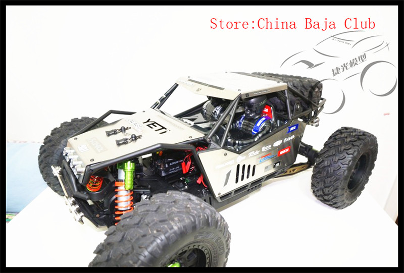 Metal protection board plate Body For Axial AX90032 AX90038 YETI XL Roll Cage metal quick release roll cage
