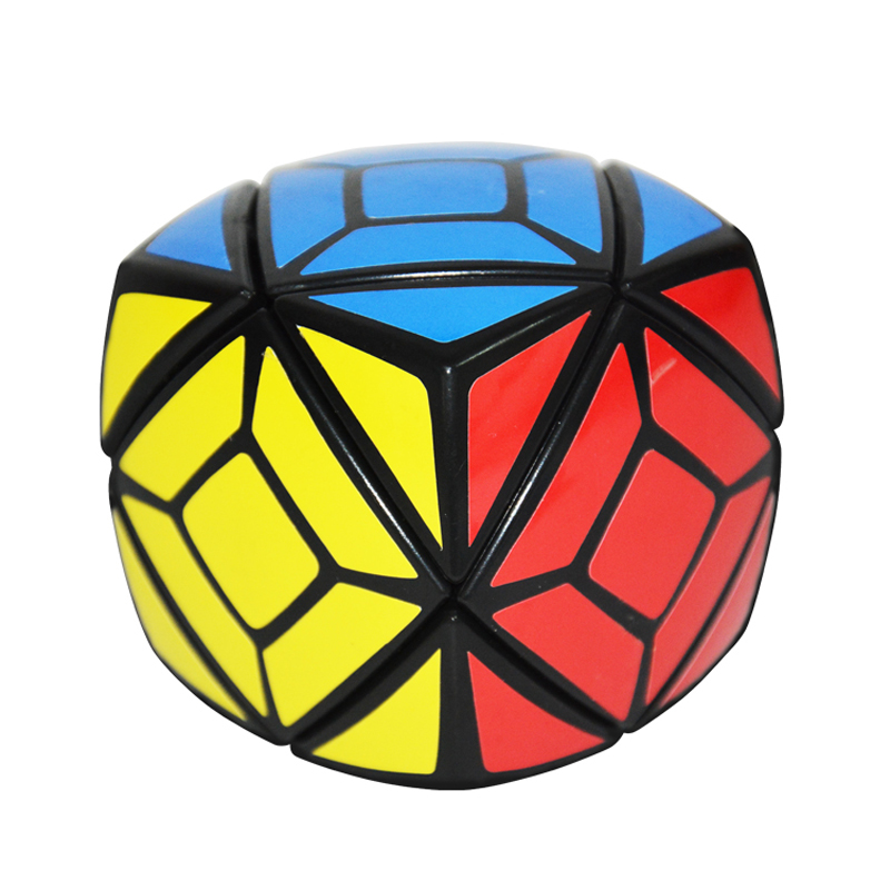 New Quick Finger Skewb Round Black Magic Cube Puzzle Speed Classic font b Toy b font