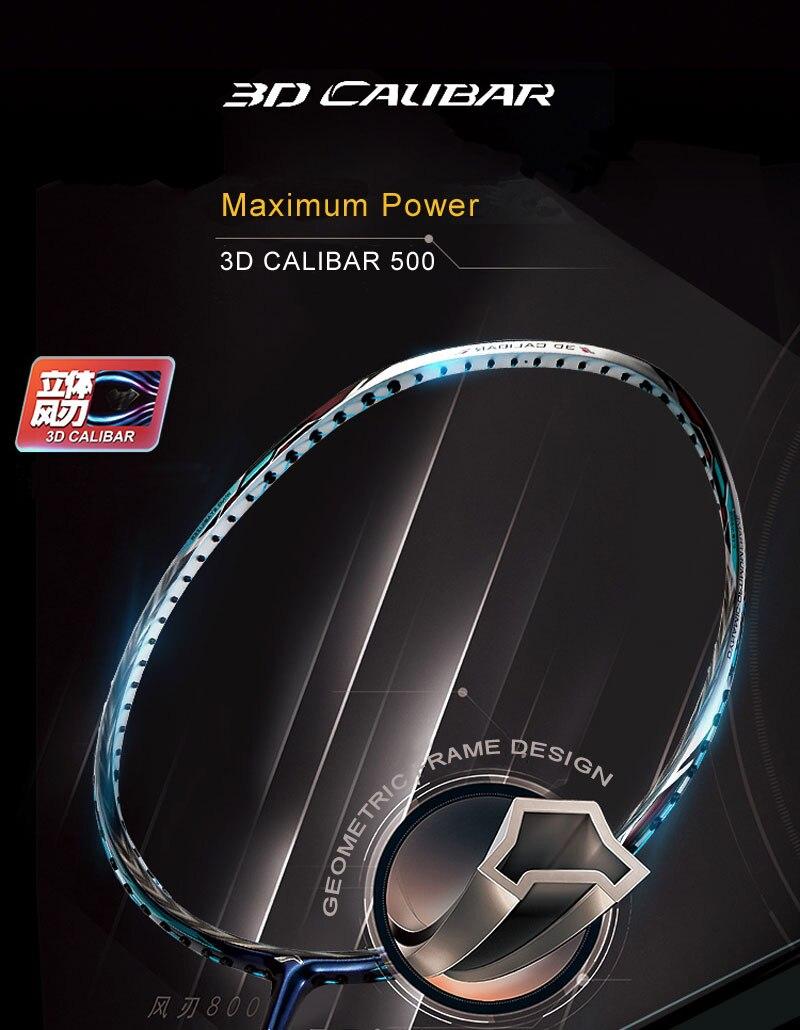 Detail Feedback Questions about Li Ning 3D CALIBAR 500