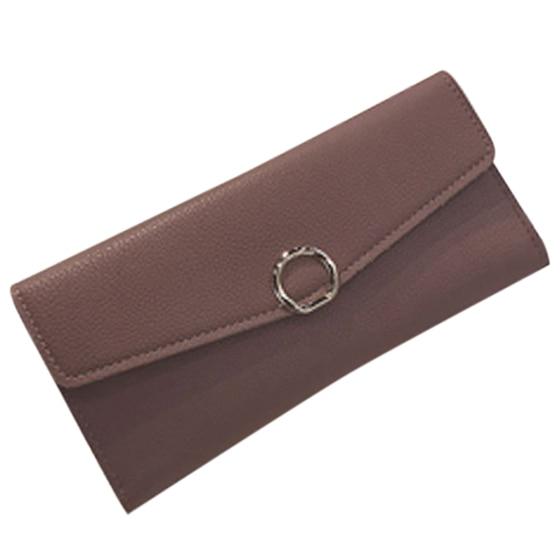 FGGS-Womens Fashion Ladies Multi-card Bit Buckle Wallet Card Pack Purses Money Clip