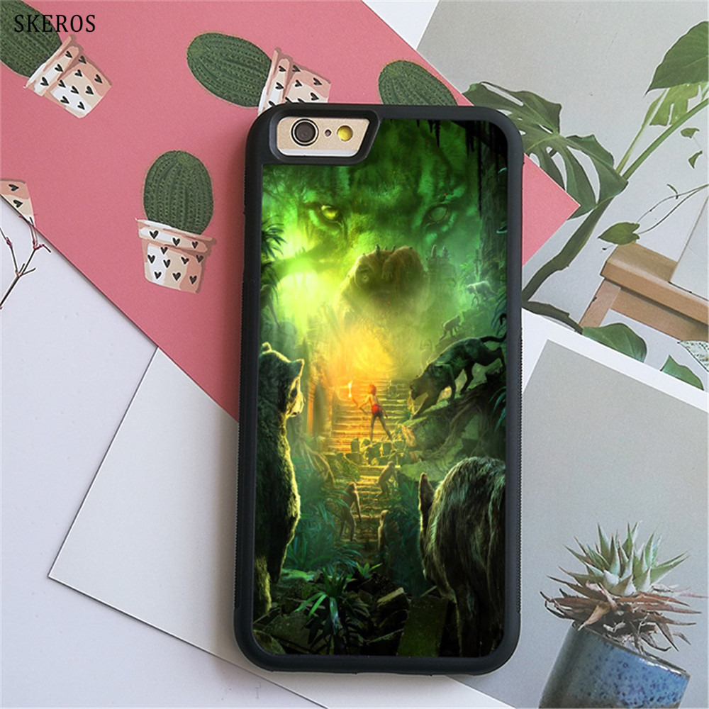 SKEROS The Jungle Book 2 (3) phone case for iphone X 4 4s 5 5s 6 6s 7 8 6 plus 6s plus 7 & 8 plus #B739