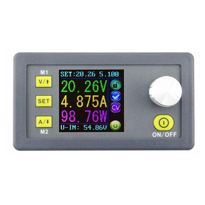 Nouveau DPS5005 50 V 5A Buck Réglable DC Tension Constante Module D'alimentation Intégré Voltmètre Ampèremètre Avec Écran Couleur