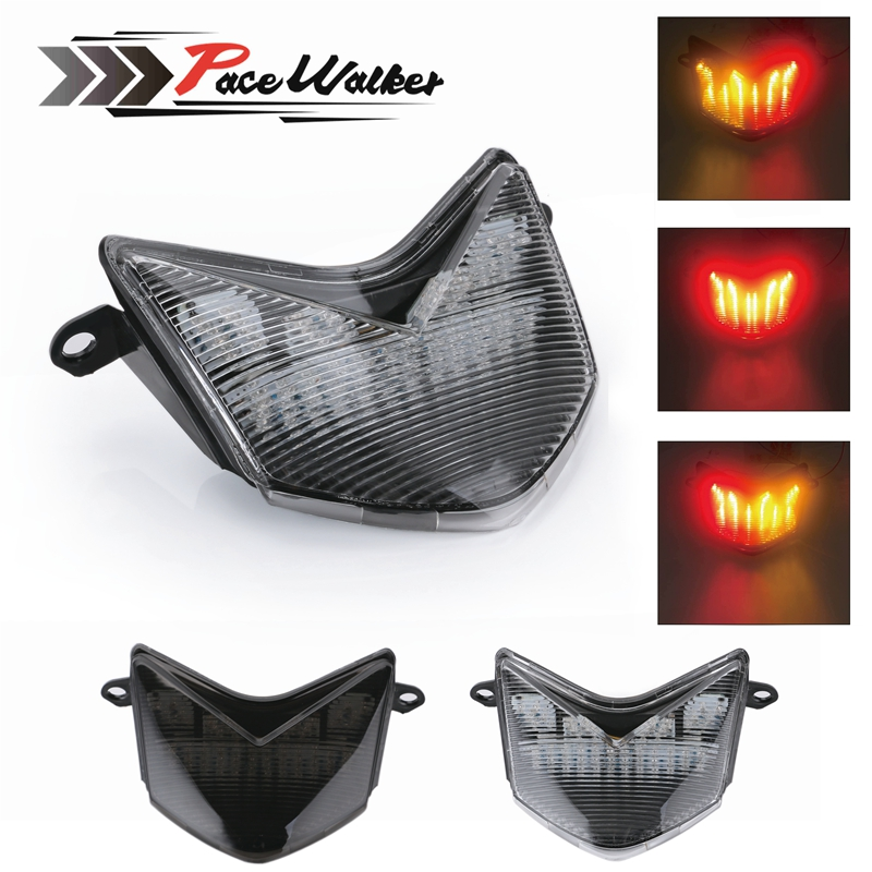 Tail light LED Smoke Integrated turn signal Kawasaki 2005-2006 NINJA ZX-6R//636