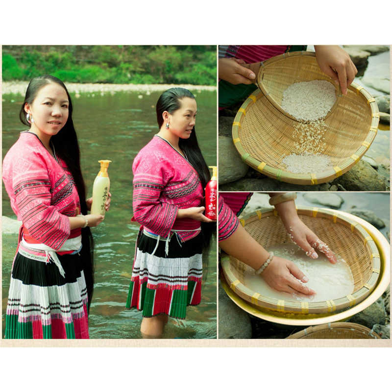 BOQIAN מסורת לשטוף אורז מים שיער שמפו לא סיליקון שמן שליטה אנטי קשקשים שמפו מקצועי שיער וקרקפת טיפול