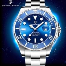 PAGANI 2019 האוטומטי גברים של שעונים עסקי נירוסטה עמיד למים גברים שעוני יוקרה מותג גברים מכאני שעון יד