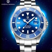 PAGANI montre avec bracelet automatique pour hommes, en acier inoxydable, marque de luxe, étanche, mécanique, nouvelle collection 2019