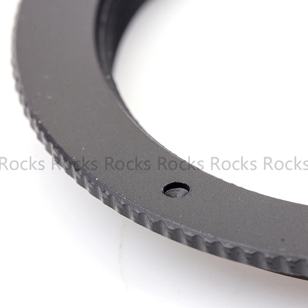 39mm-42mm Step-up Metal Filter Adapter Ring / 39mm Lens to 42mm Accessory