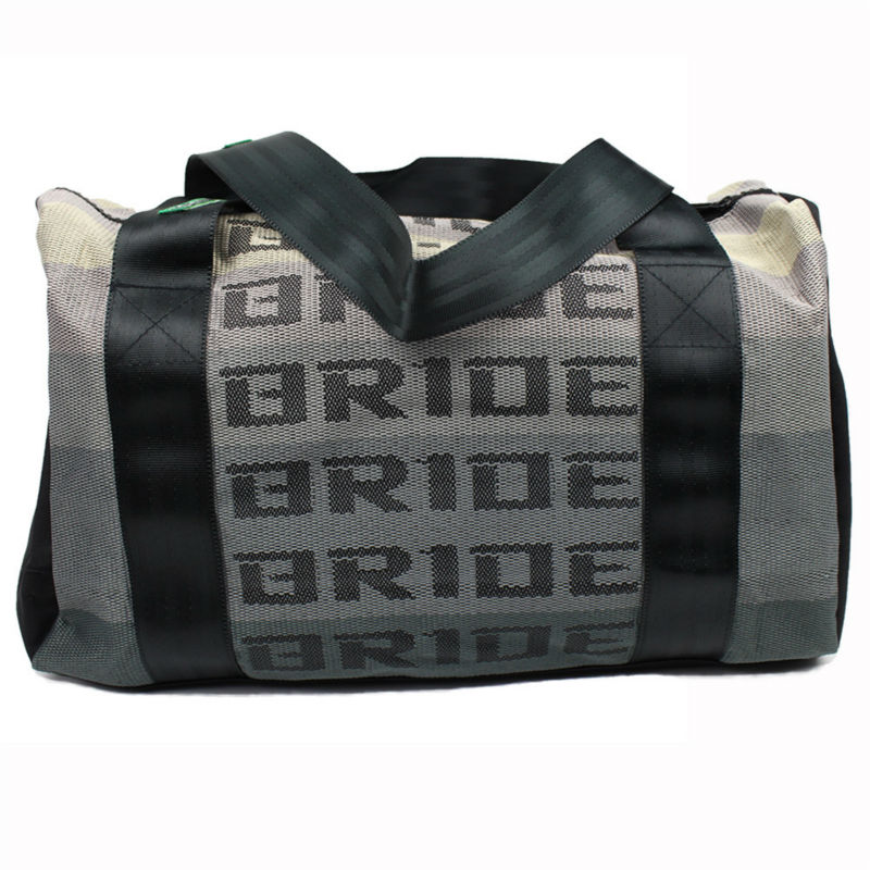 Jdm Style Bride Racing Duffle Bags Traveling Bag Handbag With Harness Straps In Leather Saddle From Automobiles Motorcycles On