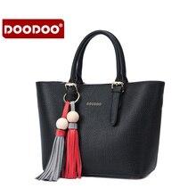 Doodoo de charol bolsos de cuero genuino de las mujeres de dos de un conjunto de bolsas de hombro bolsa de mensajero de las mujeres crossbody femininas nueva c153