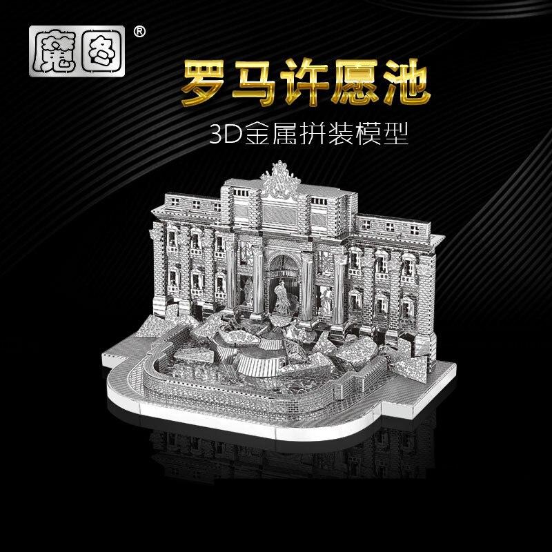 2018 ნანუანის 3D მეტალის - ფაზლები - ფოტო 2