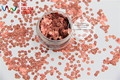 TCB088  Hexagon Shape 3MM  Size pattern glitter  for nail Art nail Polish nail gel makeup or other DIY decoration