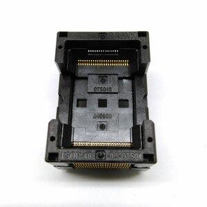 TSOP48 стандартный открытый верх горит в гнездо шаг штыря 0,5 мм IC тестовая розетка IC Размер 12x18,4 мм IC354-048-D31/35 P программатор адаптер