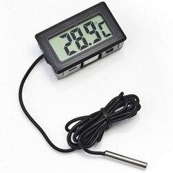 Цифровой ЖК-термометр, гигрометр, датчик для холодильника, морозильной камеры, термометр, термограф для холодильника, контроль температуры...