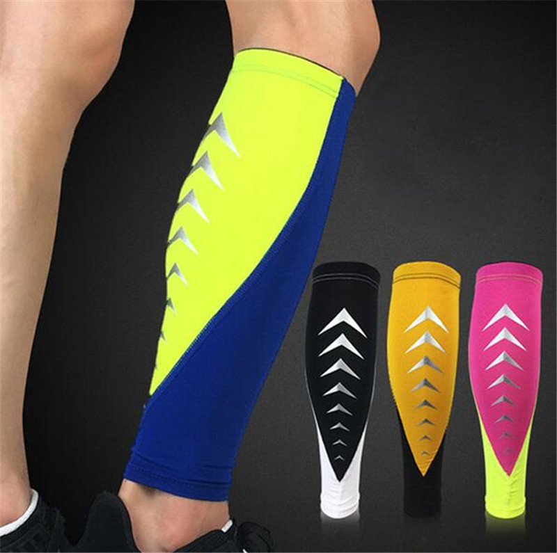 1 Pair Pressurization knee brace basketball tennis hiking cycling knee support professional protective sports knee Sport Safety