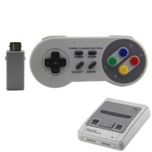 Wireless Controller Bluetooth Adapter Gamepads Classic 2.4G Game Handle Supporting For Nes/Snes/Wii