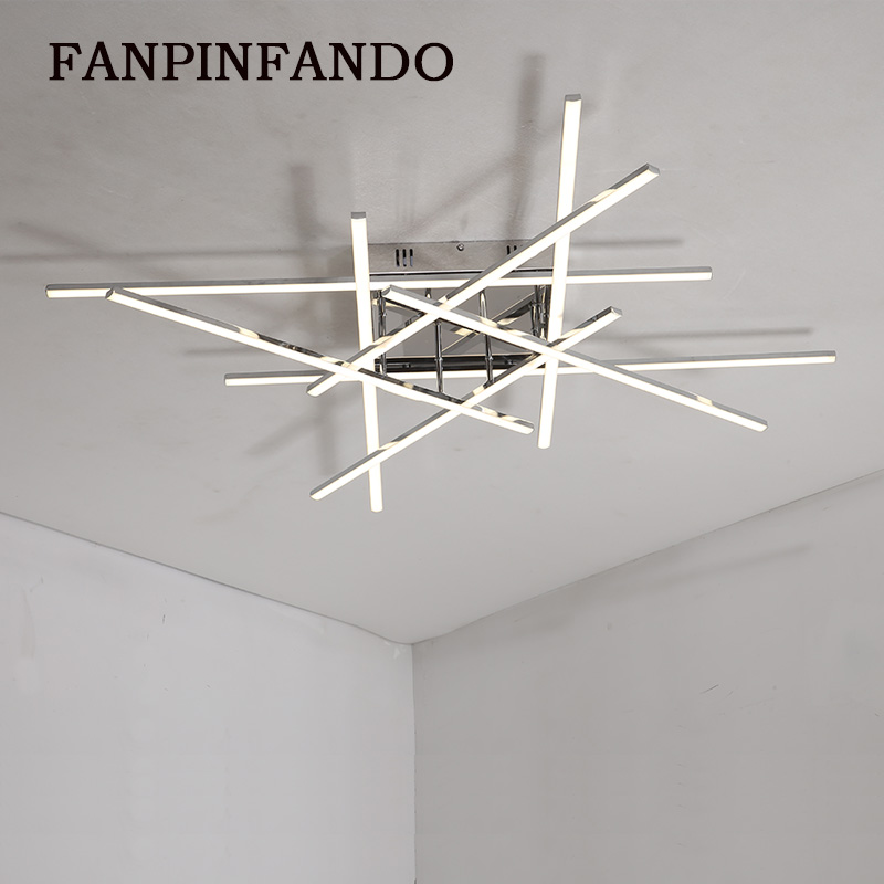 New Style Modern LED Chandeliers AC110V 220V For Living room Bedroom Dining room Led Lustres Ceiling