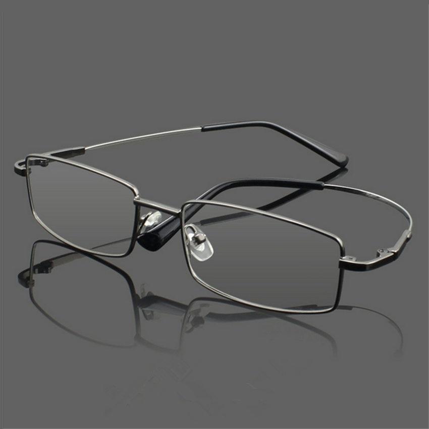 New Arrival Memory Titanium Glasses Frame Optical Eyeglasses Frame Classic Business Men Essential Full-framed Glasses