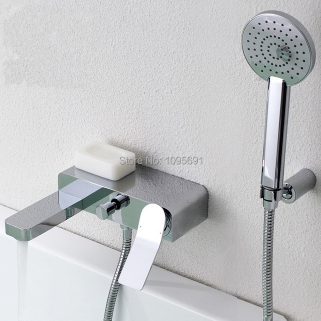 Eurostyle Cosmopolitan Bath Faucet with Hand Shower Set,Bathroom ...
