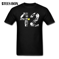 T Shirts Creative Design Hitchhiker Guide To The Galaxy 4242 Men Pre Cotton Short Sleeve T