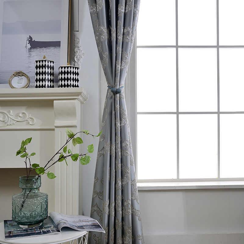 Slow Soul Китайский ветер простой Китайский Высокоточный жаккардовый занавес ткань затенение занавес s для гостиной спальни кухни