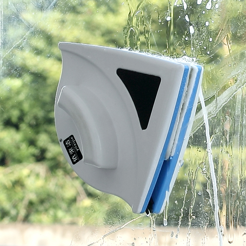 Ramen wassen magneet dubbel glas