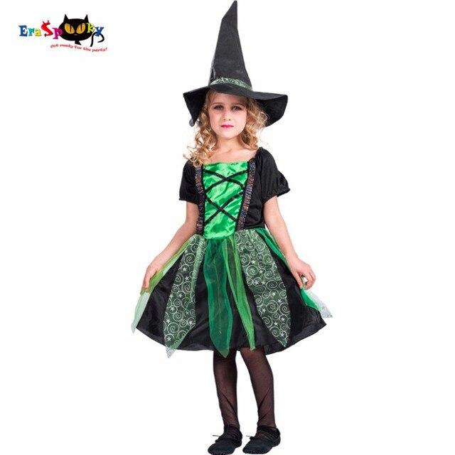 Nastro Strega Bambino Costume di Carnevale Costumi di Halloween Per I  Bambini del Vestito Del Cappello dede93919f2d