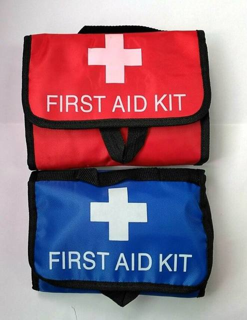 38pcs/pack Safe Portable first aid bag home car outdoor travel medical bagFAK-A03 new auto emergency kit camping survival box