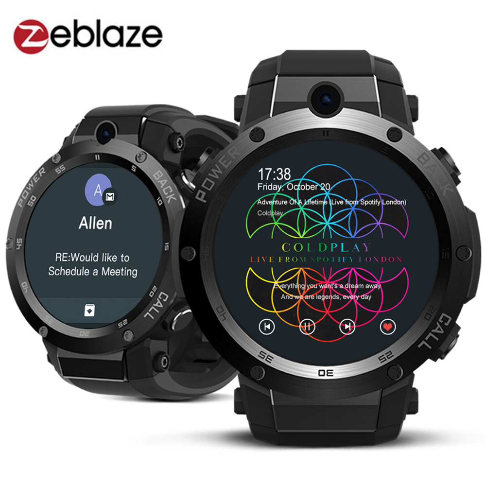 Zeblaze Thor S 3G Smartwatch Phone Android 5.1 1.39 inch MTK6580 1GB RAM 16GB ROM 5.0MP Camera Bluetooth GPS Smart Watch for Men