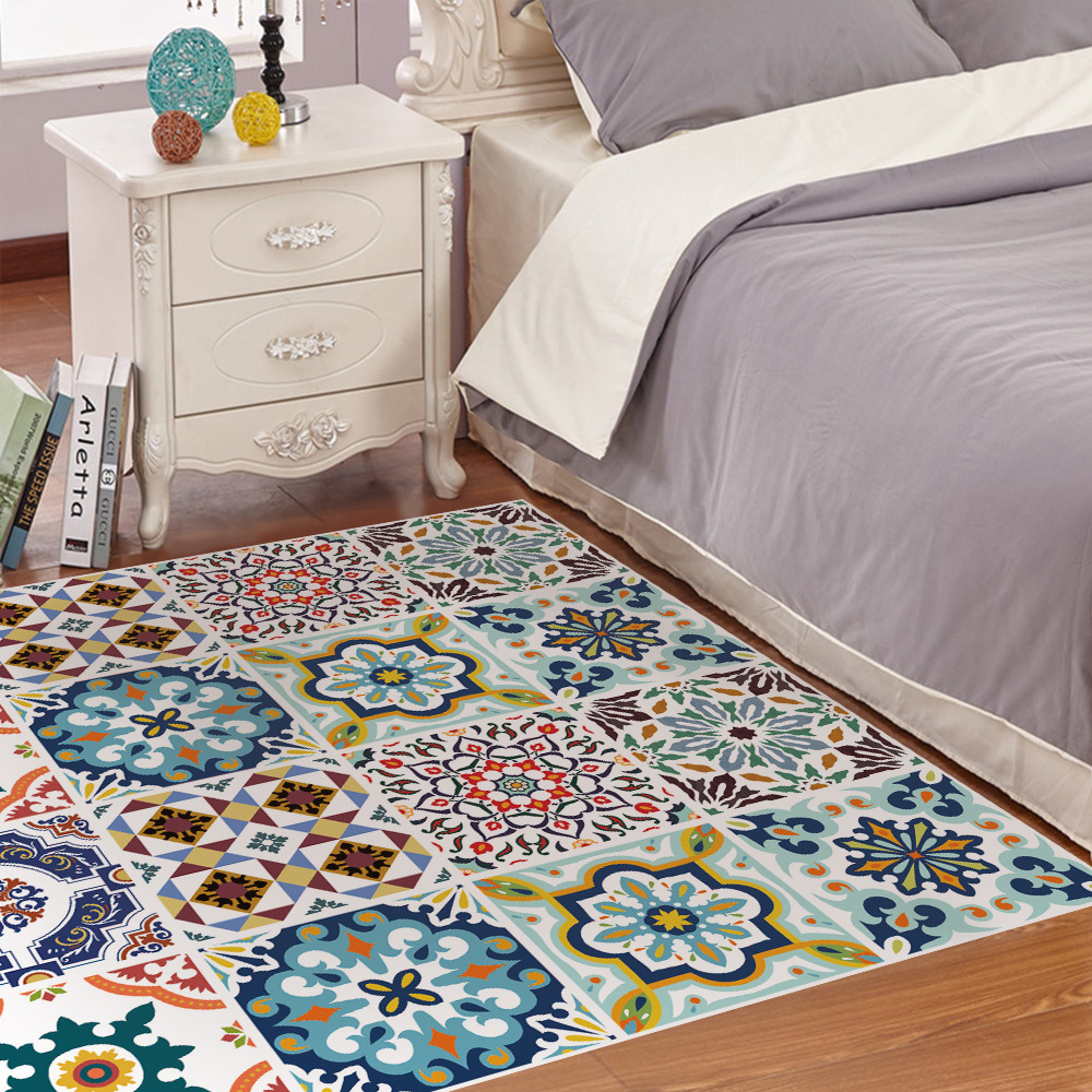 Mediterranean Tiles Kitchen: Tiles Stickers Waterproof Self Adhesive Wallpaper Kitchen