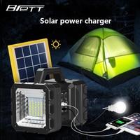 Camping light Solar lantern charging Outdoor travel Night market stall Family emergency Mandatory Multi function portable light