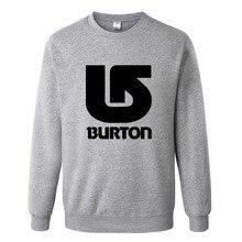 Burton Skateboard Sweatshirt Men Hoodies Fashion Mens Clothes Hip Hop Suit Pullover Tracksuits Autumn Winter Asian Size RAW0463