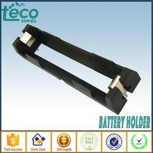Lote de 5 unidades de soporte de batería THM de alta calidad, 1X18650, con pines, caja de almacenamiento de batería 18650, TBH 18650 1C THM