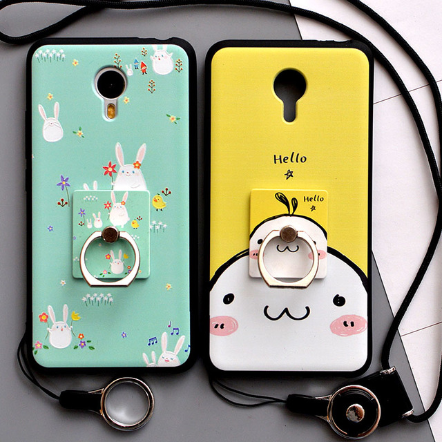 Meizu M3 Note Case Cover 3D Stereo Relief Painting Soft Silicon Back Cover Case for Meizu M3 Note Cases Phone Protector Fundas