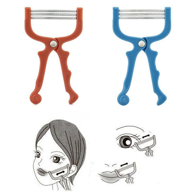 Women Summer Facial Epilator  Roller Face Hair  Pull Facial Depilation Shaving Makeup Threading Tools
