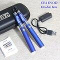E-xy электронная сигарета CE4 EVOD двойной стартовые наборы эго молнии чехол 900 мАч EVOD аккумулятор для эго-т CE4 комплект сигареты