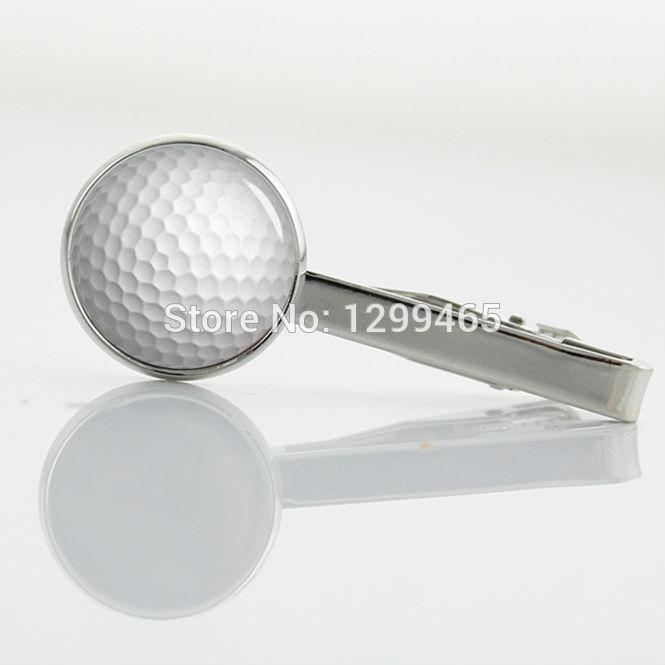 Formal Wear Men Necktie Tie Clip New Elegant Design golf ball Tie Pins Novelty Interesting sports Golfer Tie Clips T 686