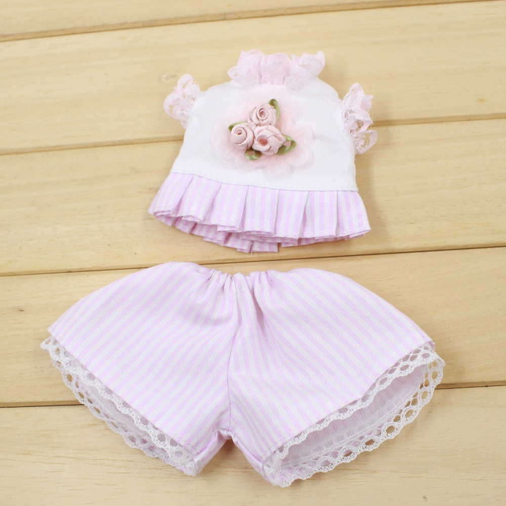 Fortune Days for 1/6 BJD Doll clothes Cute youth pink two-piece suit 30cm Highly High Quality Blyth reborn girls Toy Gifts